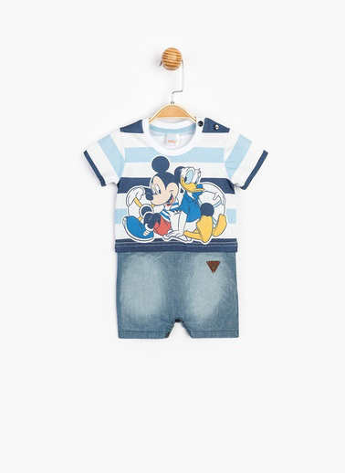 Mickey Mouse Tulum Mavi